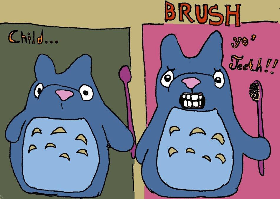 c'mon, brush'm